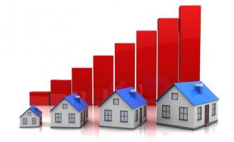 Mercato immobiliare in crescita, crescono i mutui