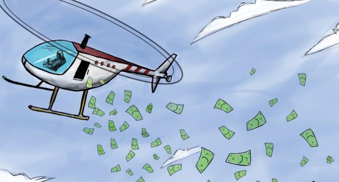 Cos'è l'Helicopter money?